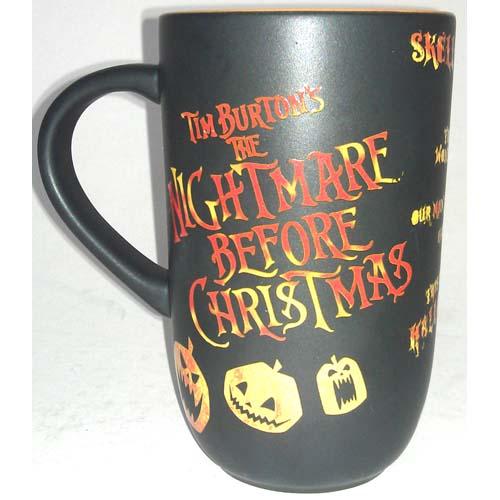 ... Disney Coffee Cup Mug - Nightmare Before Christmas - Jack Skellington