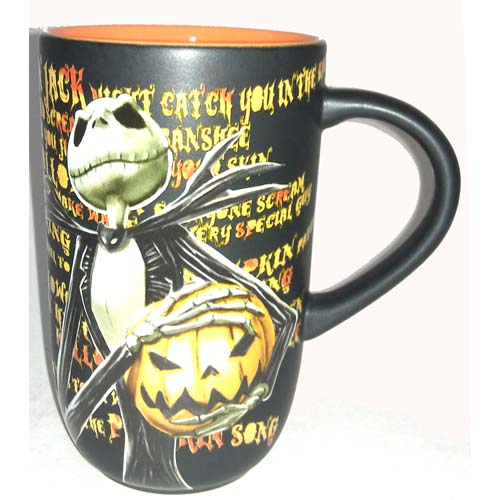 ... Disney Coffee Cup Mug - Nightmare Before Christmas - Jack Skellington