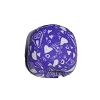 Disney Bead for Bracelet - Purple with Hearts Bead