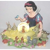 Disney Snow Globe - Snow White with Forest Friends