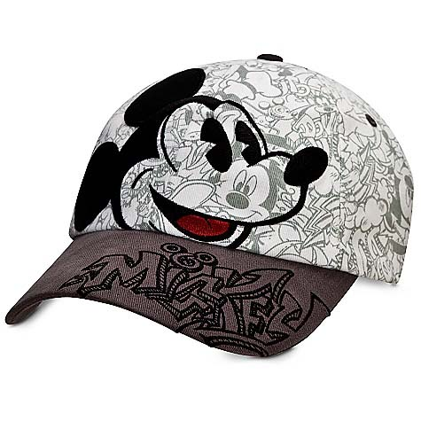 baseball cap hat sketch mickey mouse toddler mickeys diamond classic for adults