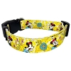 Disney Pet Collar - Yellow Classic Minnie Mouse with Flowers
