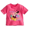 Disney Infant Shirt - Short Sleeve - My First Minnie Tee Blocks