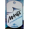 SeaWorld Engraved ID Tag - Manta Logo