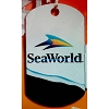 SeaWorld Engraved ID Tag - SeaWorld Logo