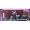 SeaWorld Engraved ID Tag - Shamu Killer Whales Fireworks - SeaWorld