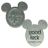 Disney World Pocket Token Coin - Piece of Magic - Good Luck
