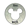 Disney World Pocket Token Coin - Piece of Magic - Live Well