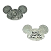 Disney World Pocket Token Coin - Piece of Magic - Never Grow Up