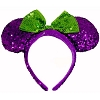 Disney Halloween Hat - Minnie Sequin Ears - Purple and Green