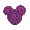 Disney Antenna Topper - Mickey Icon - Pink and Purple Swirl