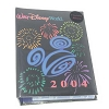 Disney Photo Album - 100 Pics - 2004 Flocked Walt Disney World Logo