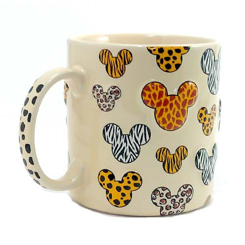 a17725a4ada Glass Mug with Handle,Cute Animal Design Borosilicate Glass Cups with  Butterfly Rabbit print-