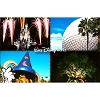 Disney Postcard - Walt Disney World Disney Four Parks Icons