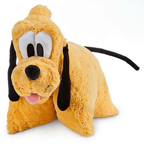Your WDW Store - Disney Pillow Pet - Pluto Reverse Pillow Plush 20