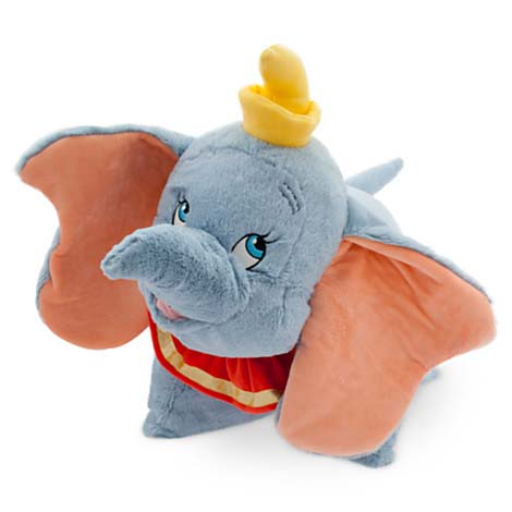 Disney Animal Pillow Pets : Your WDW Store - Disney Pillow Pet - Dumbo Reverse Pillow Plush 20