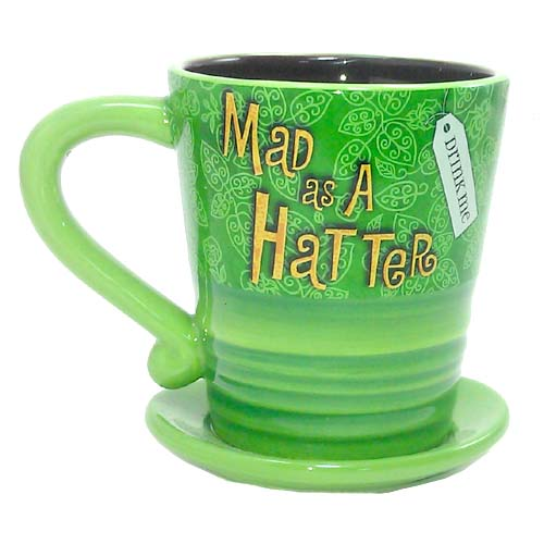 Your WDW Store Disney Coffee Cup Mug Mad Hatter Hat
