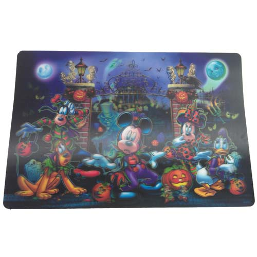 Disney Placemat Halloween Mickey Mouse And Friends
