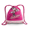 Disney Backpack Bag - Canvas Mascot Minnie Mouse Cinch Bag