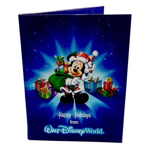 Your WDW Store - Disney Picture Frame - Happy Holidays - LED Light Up