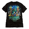 Disney Adult Shirt - 2012 Halloween Time - Mickey and Friends