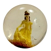Disney Bouncy Ball - Glitter-Filled Water-Ball - Belle