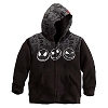 Disney Child Hoodie - Jack Skellington Faces - Fleece