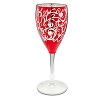 Disney Wine Glass - Wicked Beauty Snow White Apple