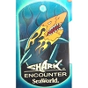 SeaWorld Engraved ID Tag - Shark Encounter Flames - SeaWorld