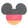 Disney Antenna Topper - Mickey Mouse Ears German Germany Flag Ball