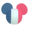Disney Antenna Topper - Mickey Mouse Ears French France Flag Ball