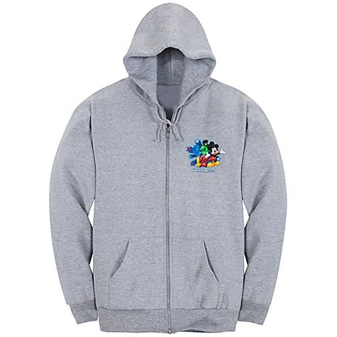 Your WDW Store - Disney ADULT Hoodie - 2012 Logo Walt Disney World