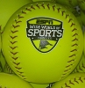 Disney Collectible Softball Baseball - Wide World of Sports – Yellow