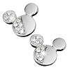 Disney Arribas Earrings - Mickey Mouse Icon Divided