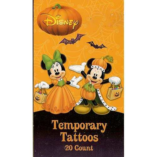 Your wdw store disney halloween decoration mickey and for Disney temporary tattoos