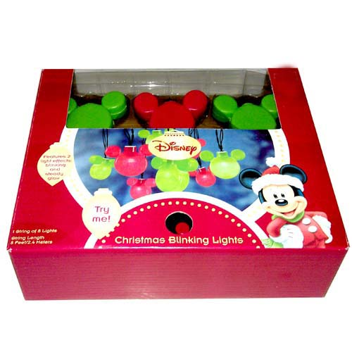 Your WDW Store - Disney Mickey Ears Christmas Lights - Mickey ...