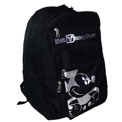 Disney Backpack Bag Mickey Mouse Black