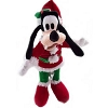 Disney Christmas Plush - Happy Holidays 2012 - Santa Goofy