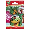 Disney Collectible Gift Card - Holiday Stocking Pluto - No Pin