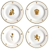 Disney Dessert Plates - Beauty & the Beast Be Our Guest - 8''