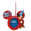 Disney Christmas Frame Ornament - 2013 Sorcerer Mickey Mouse