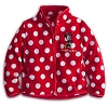 Disney Girls Jacket - Minnie Mouse Polka Dot Walt Disney World