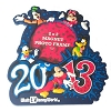 Disney Photo Frame Magnet - 2013 Logo Mickey and Pals
