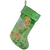 Disney Christmas Holiday Stocking - Tinker Bell Ice Castle - Green