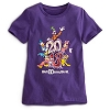 Disney Child Shirt - 2013 Mickey Mouse and Friends - Purple