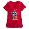Disney Ladies Tee Shirt - 2013 Walt Disney World V-Neck Style