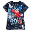 Disney Ladies Tee Shirt - 2013 Mickey Disney World Sublimated