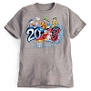 Disney Adult Shirt - 2013 Sorcerer Mickey & Pals Disney World - Grey