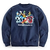 Disney Adult Sweatshirt - 2013 Walt Disney World - Navy