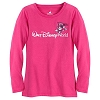 Disney Child Shirt - Mascot Mickey Tee for Girls - Pink